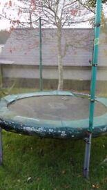 8 foot TP trampoline **SPARES OR REPAIR**