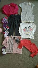 Bundle of girls clothes 18-24months