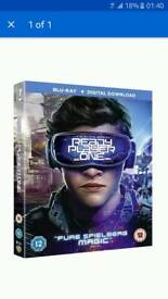Ready player one full retail blu-ray (COPY)