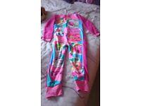 New unworn Shopkins onesie age 9/10. Has original labels still on
