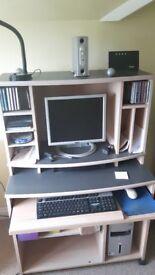 computer desk / unit