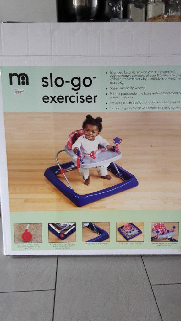 Mothercare Go SLO excerciser in immuclate condition