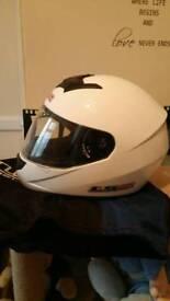 Motorcycle crash helmet LS2