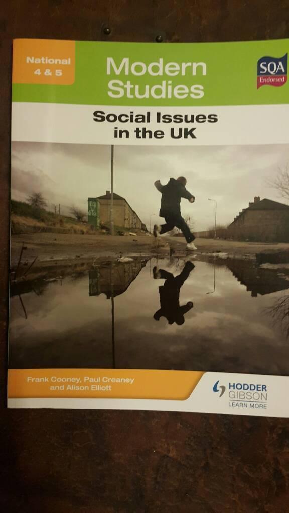Modern Studies national 4-5 study book