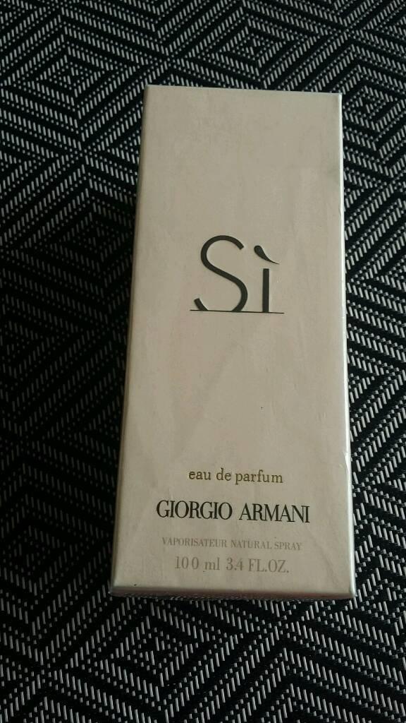 Armani Si Parfum 100mlin Luton, BedfordshireGumtree - It is unopened