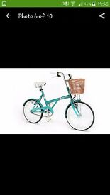 "20"" Teal City Bike"