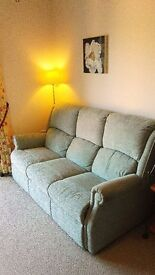 3 seater fabric sofa for sale (house clearance price)