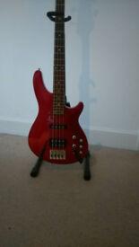 Schecter CV4 bass guitar