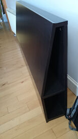 IKEA OPPDAL Headboard with storage compartment