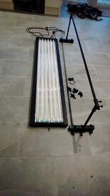 Six tube light system.480w.