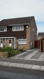 Modern 2 bed semi close to Liscard