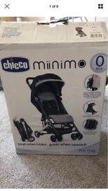 Brand new Chicco pushchair