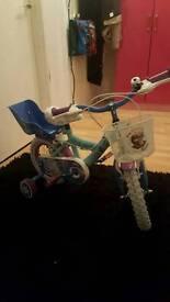 12 inch frozen bike