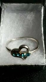 Sz R Silver Plated Ring