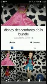 Disney Descendant Doll Bundle