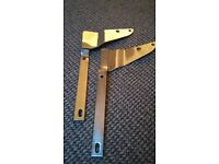 chrome sissy bar brackets for pioneer 125