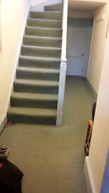 Carpet: Hall, Stairs and Landing, with underlay. 42m sq (452 sq ft). Can be seen fitted as in pic