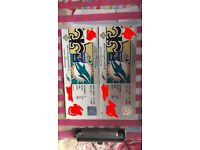 NFL Miami dolphins vs New Orleans Saints international tickets x2 together £300 per ticket wembley