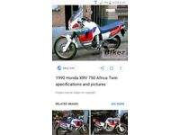 honda 750 Africa twin, barn find ,project, spares or repair