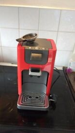 Senseo Coffee Machine with ground bean adapter