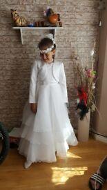 Communion dress 9-10y