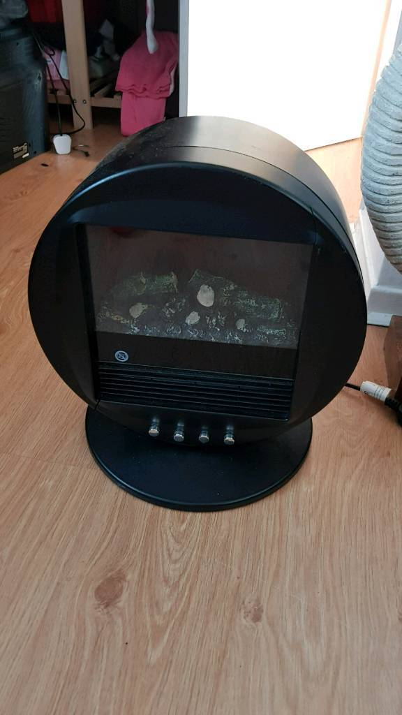 Stove style electric heater