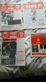 Liverpool fc fan club magazine rare !!
