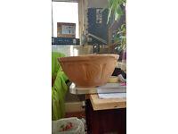 Large ceramic bowl, Vintage Thomas Plant