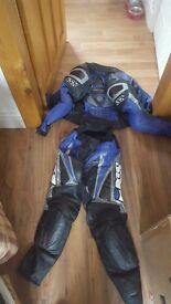 Motorcycle leathers - small adult sized