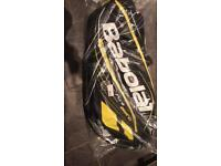 Brand new in packaging babolat 12 racket tennis bag