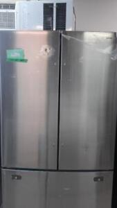 36-inch Stainless Refrigerator, Bottom Freezer, Samsung