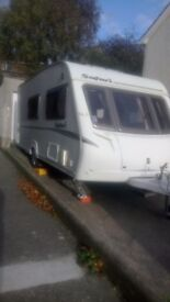 2008 ABBEY SAFARI (Special Edition) touring caravan with motor mover and full awning