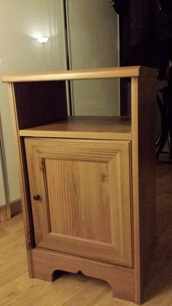 Drawer beside chest - Bedroom - wooden used