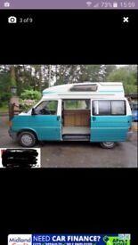 Volkswagen transporter high top campervan