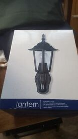New Outdoor Lantern with PIR motion sensor