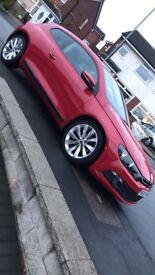 2010 Red Volkswagen Scirocco 2.0L Diesel DSG TDI Semi-Auto