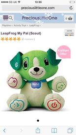My pal scout leapfrog toy