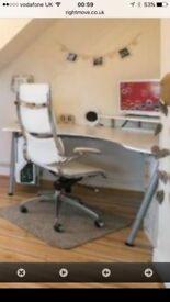 IKEA Galant Right Corner White Office desk