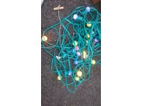 Working large fairy lights