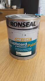 Ronseal cupboard paint (ivory)
