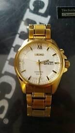 SEIKO KINETIC GOLD PLATED