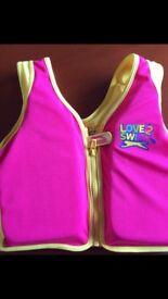 Love 2 Swim Slazenger swimming vest
