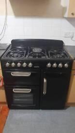 Duel fuel cooker
