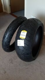 new pair of tyres to fit a suzuki 1800 vzr intruder