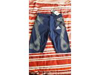 Ladies Adidas Sports Shorts Size S ( 10 )