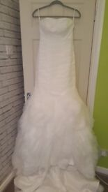 Wedding Dress for sale - Liverpool - size 8 - £399