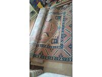 5 Large second hand Carpets