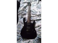 SGR by Schecter C-1 Electric Guitar - Black