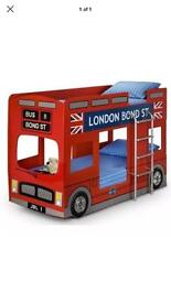 Bunk bed London Bus