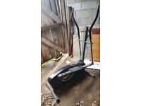 Elliptical cross trainer - well used (slightly rusted)